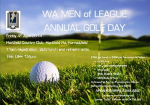 Men of League Golf Day 2014