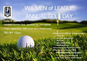 Men of League Golf Day 2014