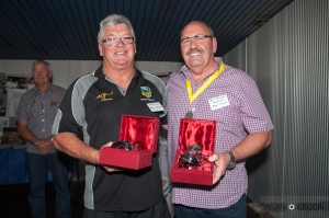 Hall of Fame recipients Mark Williams and Peter Cummins