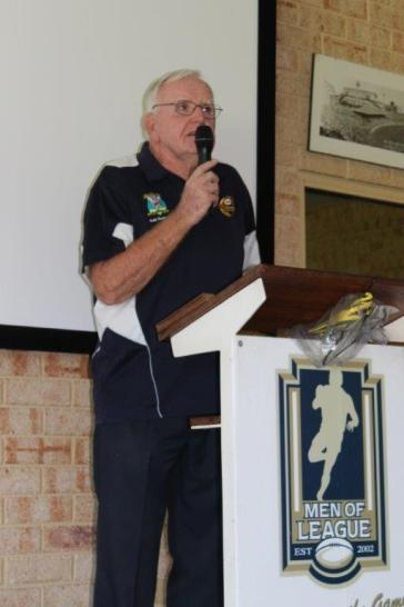 WARL Past Players President - John Moore