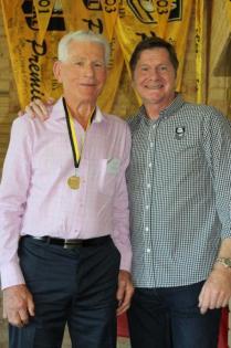 Bob Patching (South Perth) 1951 Brice Trophy winner with John Sackson NRLWA