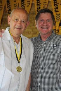 Michael Hunt (South Perth) 1959 Brice Trophy winner with John Sackson NRLWA