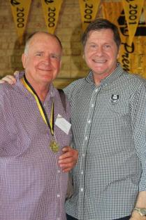Peter McLarty (Fremantle)1966 Brice Trophy winner with John Sackson NRLWA