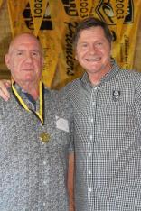 Bob Granville (Vic Park) 1968 Brice Trophy winner with John Sackson NRLWA