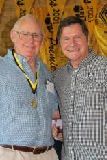Noel Williams (Fremantle) 1969 Brice Trophy winner with John Sackson NRLWA