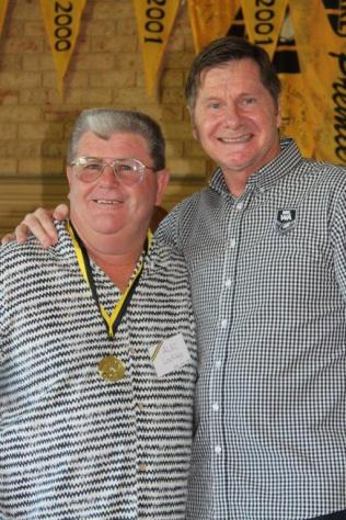 Alec Lockley (Fremantle) 1973, 1975, 1977, 1982 Brice Trophy winner with John Sackson NRLWA