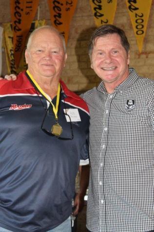 Rod Nelson (Fremantle) 1976 Brice Trophy winner with John Sackson NRLWA