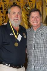 John Fieldng 1981 Brice Trophy winner with John Sackson NRLWA
