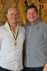 Rob Sollis (Applecross) 1986 Brice Trophy winner with John Sackson NRLWA