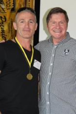 Carl Grigg (Canning) 1992 Ken Allen Medalist with John Sackson NRLWA