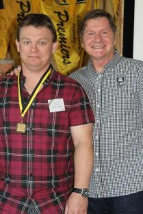 Paul Abercrombie (Belmont) 1996 Ken Allen Medalists with John Sackson NRLWA