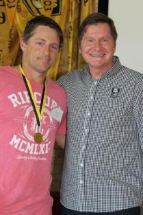 Jarrad Millar (North Beach) 1998 Ken Allen Medalists with John Sackson NRLWA