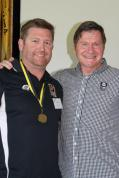 Shane Brook (Eastern Bulldogs) 2002 Ken Allen Medalists with John Sackson NRLWA