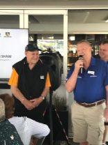 Frank Morgan & Reg Fisher 2018 WARL Past Players Re-union