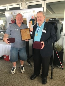Steve Mills & Joe Gush - 2018 NRLWA Hall of Fame Inductees